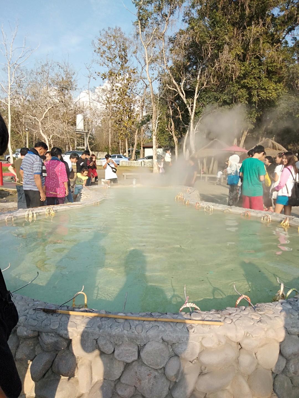 チェンマイの温泉