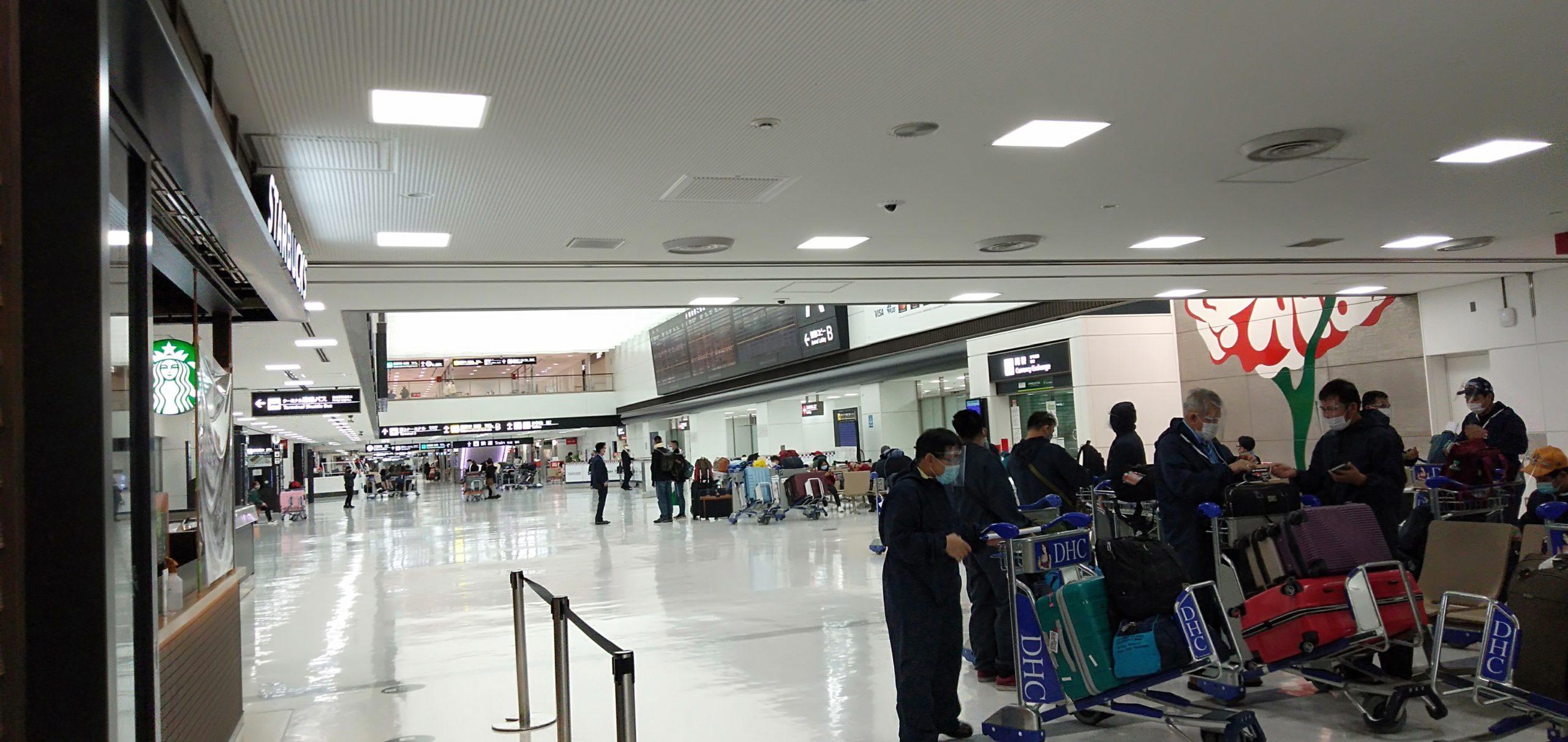成田空港新型コロナ